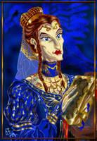 Rowena Ravenclaw by zorm