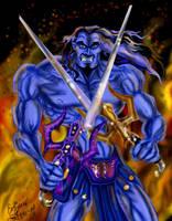 Fighting Keldor by zorm