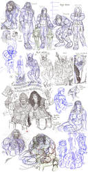 Huge TCTC sketchdump by zorm
