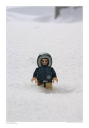 Lego Han on Hoth by SpicyHamster