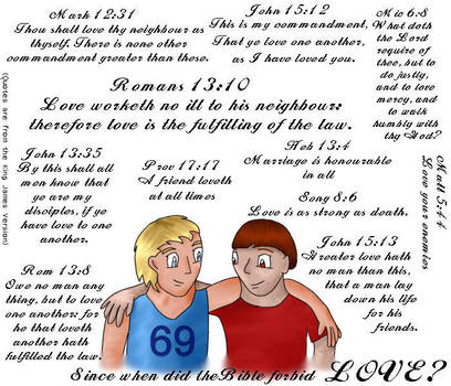 The bible forbids love now? by defrosting