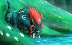 Troll druid by FenrirsRune
