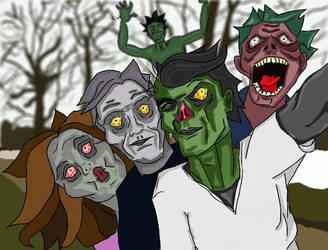 Selfie Group by Get-Set-Geek