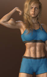 G8F Muscle Morph Test 2 by msclgrl