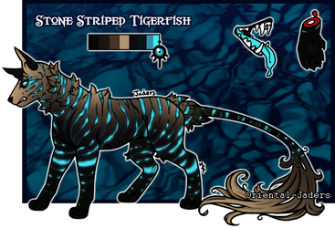 Feral Jader - Stone Striped (CLOSED) by Grifforik