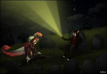 YCH 13- Graveyard for Milo5 by Grifforik