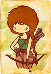 katniss by agusmp