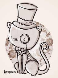 fancy cat is fancy by agusmp