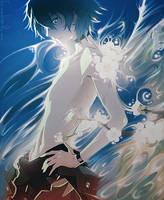 [Gift]Smudge Kaworu by XxAjisai-GraphicxX