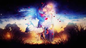 [Wallpaper] Dragon  Knight Boy by XxAjisai-GraphicxX