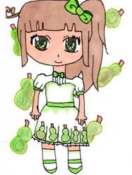 :G: Pear by royalbell