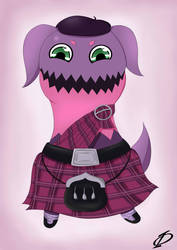 Request - Teepo in a Kilt by Kergul