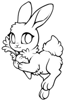 Free Bunny Base [MSpaint friendly included] by Kakiwa