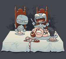 Zombie Jealousy by Sanaril