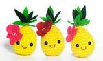 Sweet Crochet trio by aikochan11