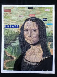 Mona Lisa - Magazine Collage by ACD101