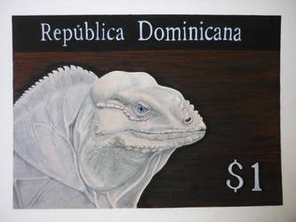 Dominican Republic Stamp by ACD101