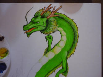Asian Dragon - wip 1 by ACD101