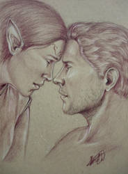 Can't Imagine Life Without You - Lavellan/Cullen by ACD101
