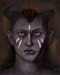 Inquisitor Hasra Adaar by ACD101