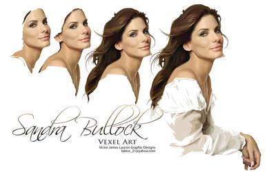 sandra bullock vexel by biktor21