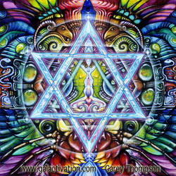 Harmonic Concordance by Galactivation