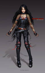 Kira concept - skin 01 by oione