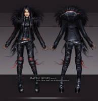 Kira Crow - skin01 by oione