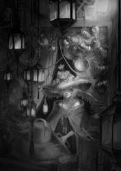 Frog witch by oione