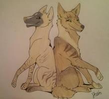Furiel and Narleen by jjanina