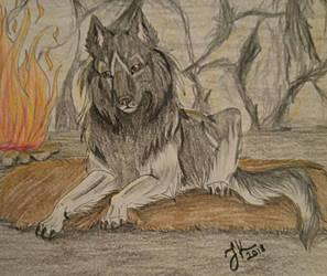Fireplace by jjanina
