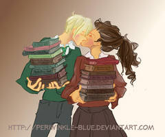 How to Impress a Bookworm by periwinkle-blue