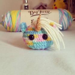 Unicorn Ball by LaureleiKirsch