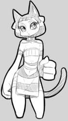cat sketch? by anastasia309