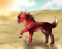 Walking forwards the sun - {P} by letta-wolf