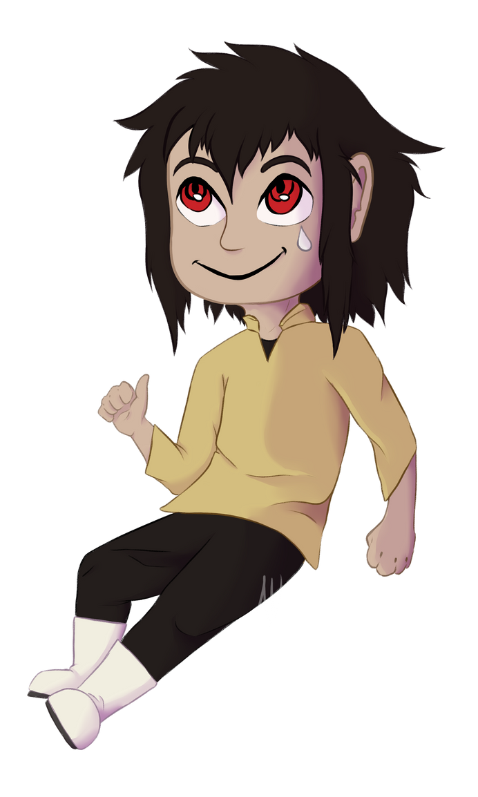 Mike chibi - {GIFT} by letta-wolf