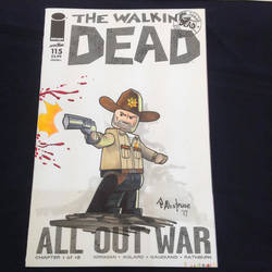 Rick Grimes Lego commission by paulabstruse