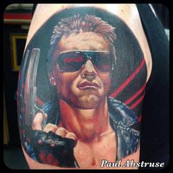 Terminator Portrait by paulabstruse