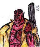 Hellboy by FireballofDstrXn