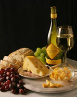 Wine Bread Cheese by adge