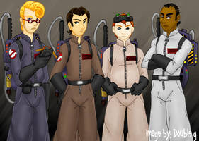The Real Slim Ghostbusters by 610gonzalez