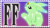Final Fantasy Stamp Carbuncle by Michio11