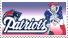New England Patriots Stamp by Michio11