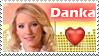 Danka Strculova Stamp by Michio11