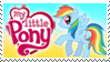 My little Pony Stamp by Michio11