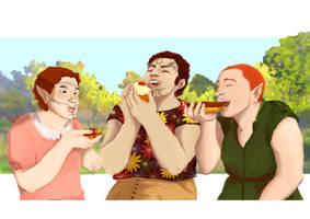 The heroe's pastries by Nasstia