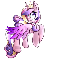 Princess Cadence by PaperKoalas