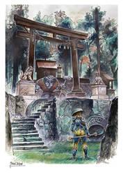 The Gate by MichaelDelpaen