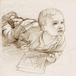 D. qui dessine  by MichaelDelpaen