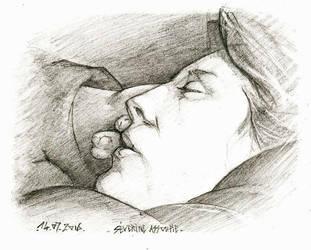 Sev endormie by MichaelDelpaen